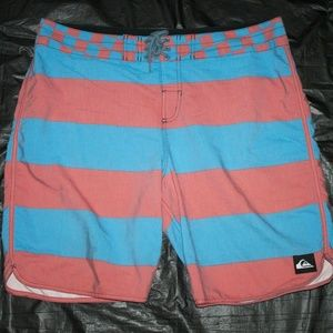 Quicksilver Mens Board Shorts Surf Swim Trunks Cas